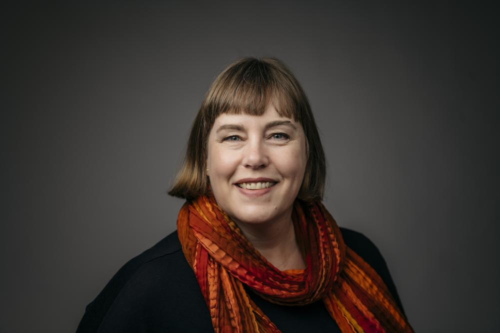 Pauline de Jong, Executive Director    (photo credit Angela Gzowski)